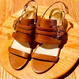 Michael Kors slingback heels, beautiful!!